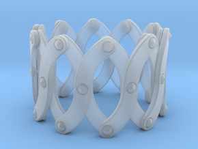 Expandable Bracelet SO in Smooth Fine Detail Plastic
