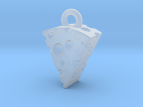 Swiss Cheese Pendant in Smooth Fine Detail Plastic