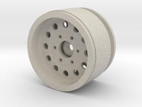 "1.9"" Beadlock Wheel with 12mm Hex in Natural Sandstone"