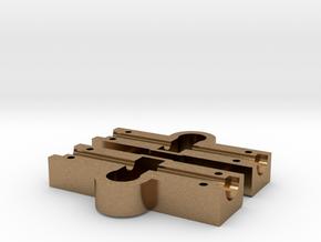 Achskörper  HA  SX2000   1:87 in Natural Brass
