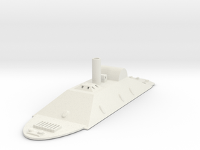 1/600 CSS Missouri in White Natural Versatile Plastic