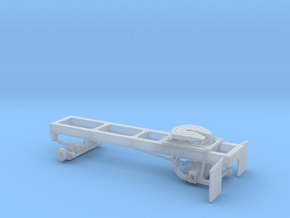 1/64th Single axle frame, suitable for KW CBE in Smooth Fine Detail Plastic