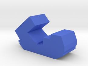 Game Piece, Blue Force Mlrs Artillery in Blue Processed Versatile Plastic