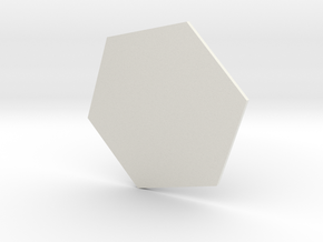 Defense line  in White Natural Versatile Plastic