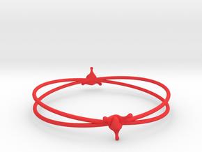 LoveSplash bracelet in Red Processed Versatile Plastic