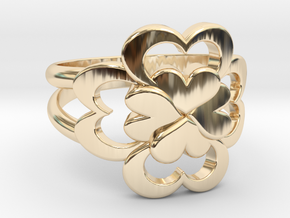 Size 8 Wife Ring  in 14K Yellow Gold