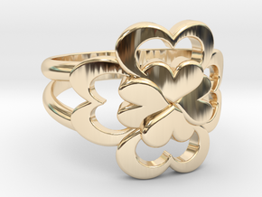 Size 7 Wife Ring  in 14K Yellow Gold