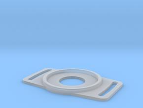 DSLR Lens Cap Holder -62mm in Smooth Fine Detail Plastic