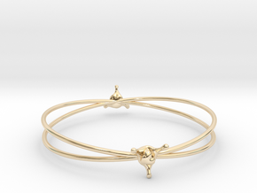 LoveSplash bracelet in 14K Yellow Gold