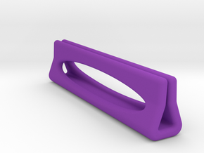 PLAYING CARD HOLDER in Purple Processed Versatile Plastic