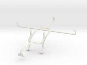Controller mount for Xbox 360 & Maxwest Nitro Phab in White Natural Versatile Plastic