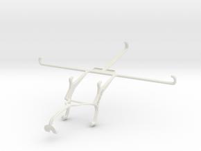Controller mount for Xbox 360 & Micromax Canvas Ta in White Natural Versatile Plastic