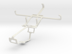Controller mount for Xbox One & Samsung G3812B Gal in White Natural Versatile Plastic