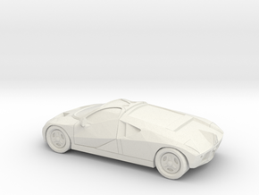 1/87 Ford GT90  in White Natural Versatile Plastic