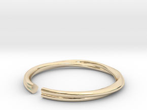Mobius Hearts Ring in 14K Yellow Gold