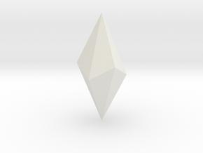 Calcite 0005 in White Natural Versatile Plastic