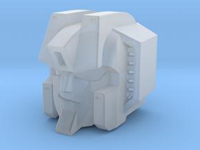 Screamer Head Master Version in Smooth Fine Detail Plastic