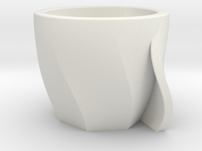 Tazziana in White Natural Versatile Plastic