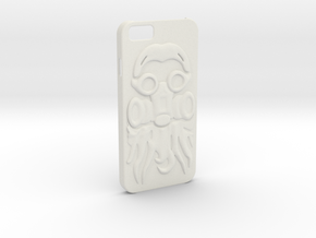 Irish Mike Gasmask - iPhone 6 Case in White Natural Versatile Plastic