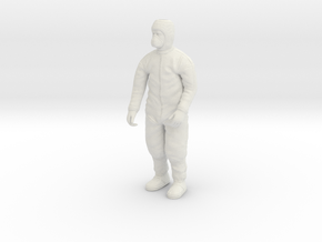 Clean Room Workman Nr. 2  in White Strong & Flexible: 1:20