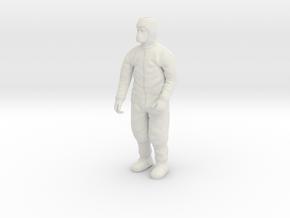 Clean Room Workman Nr. 2  in White Natural Versatile Plastic: 1:20