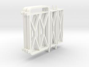 803 TMDG AB 1-4 Balkonhek 1:17 in White Processed Versatile Plastic