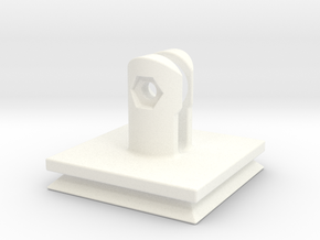Arca-Swiss Square Virb QR Plate in White Processed Versatile Plastic