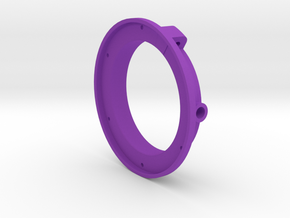 AEE SD23 Adaptater chamber diving for 67mm filter in Purple Processed Versatile Plastic