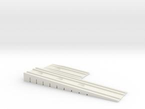 Bretts Wedge Rev 5 in White Natural Versatile Plastic