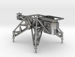 018A LLTV - Lunar Landing Training Vehicle - 1/144 in Natural Silver