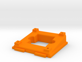 Tilted camera holder for ZMR250 in Orange Strong & Flexible Polished