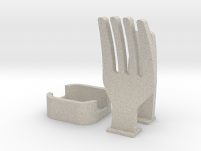 Fork Cable Organizer in Natural Sandstone
