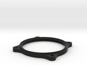 German Large Gauge Bezel in Black Natural Versatile Plastic
