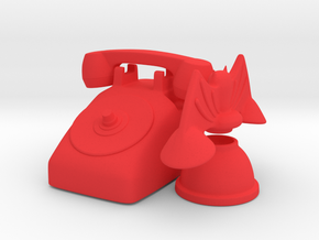 bat phone set in Red Processed Versatile Plastic