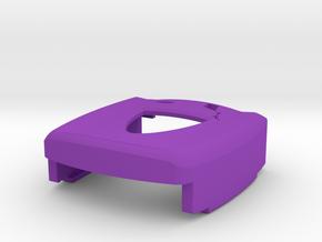 Kite Pendant Cover 04122015 in Purple Processed Versatile Plastic