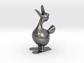 DUCK PENCIL HOLDER in Polished Nickel Steel