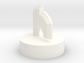 Gurren Lagann Core Drill (Top) in White Processed Versatile Plastic