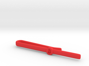 Bitcoin Tie Clip Simple in Red Processed Versatile Plastic