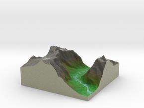 Terrafab generated model Tue Apr 14 2015 15:30:46  in Full Color Sandstone