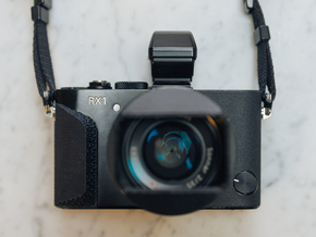 RX1 / RX1R / RX1R ii Grip in Black Natural Versatile Plastic