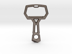 Keynoko Multitool in Polished Bronzed Silver Steel