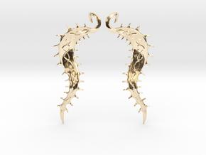 SeaBean Earrings in 14K Yellow Gold