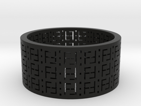 FREEFUTURE F5-2 RING, US size 13.5, d=22.5mm (size in Black Natural Versatile Plastic