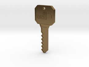 Big Brother Houseguest Key (Personalized Name!) in Natural Bronze