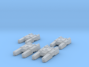 285th Centaur Hovertank platoon (tank hulls only) in Smooth Fine Detail Plastic