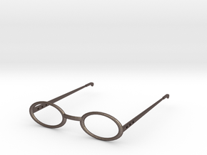 Glasses for 18 Inch Doll in Polished Bronzed Silver Steel