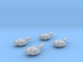 285 Mk IV Sniper Turrets in Smooth Fine Detail Plastic