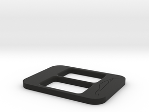 BRZ Limited Console Plate Style 003 in Black Natural Versatile Plastic