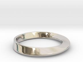 Möbius Ring in Platinum