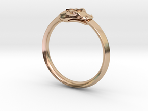 Ordo Arcana Imperii Ring in 14k Rose Gold Plated Brass